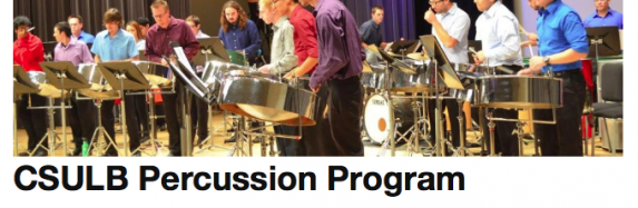 New CSULB Percussion Program Website