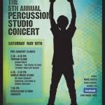 Gerhart Percussion Studio Concert 2013