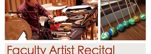 Faculty Artist Recital – Friday, January 31